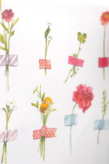 2013_Watercolor_Flower_calendar_detail4
